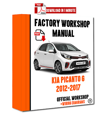 official workshop manual service repair for kia picanto g kappa 2012 rh picclick co uk kia picanto 2013 workshop manual kia picanto 2013 workshop manual
