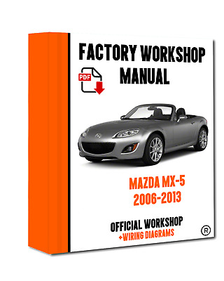 official workshop service repair manual for mazda mx5 2006 2013 rh picclick co uk 2006 MX-5 Stanced 2016 MX-5 Coilovers