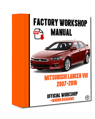 official workshop manual service repair mitsubishi lancer viii 2007 rh picclick co uk 2010 Mitsubishi Triton Toyota Hiace