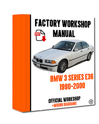 Workshop Manual Service Repair Guide For Bmw 3 Series E36 1990 2000 Wiring Eur 8 01 Picclick Fr