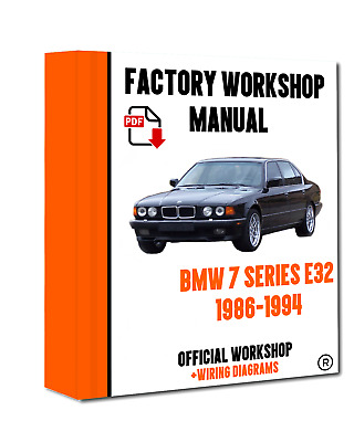 Bmw service repair workshop manual 7 series e32 e38 e65 e66 on dvd official workshop manual service repair bmw series 7 e32 1986 1994 freerunsca Image collections