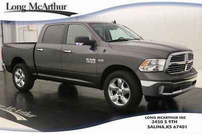 2015 Ram 1500 BIG HORN 4WD HEMI V8 8 SPEED AUTOMATIC SUPER CREW CAB 4X4 TRUCK REMOTE KEYLESS ENTRY, SPRAY IN BEDLINER, HEATED TRAILER TOW MIRRORS
