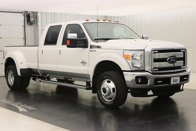 2016 Ford F-350 4X4 DIESEL LARIAT 4WD DIESEL CREW CAB SUPER DUTY DUALLY 4WD 4X4 4 DOOR 6 SPEED AUTOMATIC DUALLY CHROME PACKAGE SPRAY IN BEDLINER
