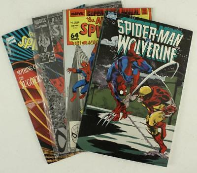 Marvel Comic Book Spider-Man Collector Issue 1 Graphic Novel Wolverine & Special