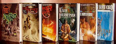 Full Set *The Tales of Alvin Maker 1 - 6, Orson Scott Card** Signed 1st Editions