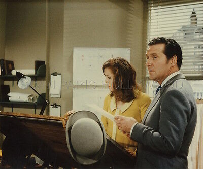 PATRICK MACNEE DIANA RIGG THE AVENGERS 60s VINTAGE PHOTO R80 #2