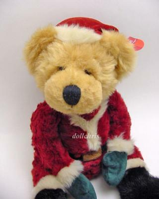"""KRIS SANTA Bears from the Past Russ Berrie Plush Doll 15"""" Large New with Tags"""