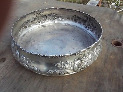 black starr and frost american plate silver sterling argent 305 grammes diam 20