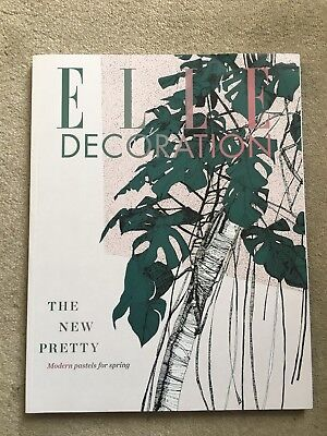 Elle Decoration MAY 2017 back issue No. 297 NEW MINT Modern Pastel