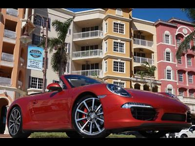2013 Porsche 911 Carrera S 997 991 PDK 911 Turbo S 6 speed stick manual cab coupe Red gt2 gt4 gt2 rs gt3 rs
