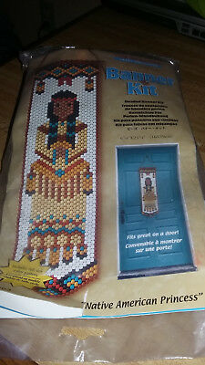The Beadery Native American Princess Banner Kit Unopened Great Craft Gift Powwow