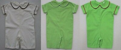 Beehave Baby Boy's Corduroy Romper One Piece Outfit Long Pants Short Sleeved