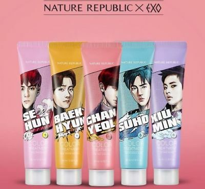 [Nature Repulic] EXO Limited Edition Hair & Nature Color Treatment 60ml / Korea