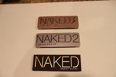 Urban Decay Naked 1-2-3 Palette Eyeshadow Palettes