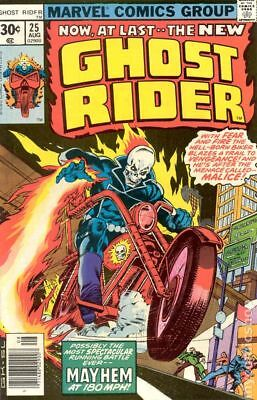 Ghost Rider (1st Series) #25 1977 VG 4.0 Stock Image Low Grade