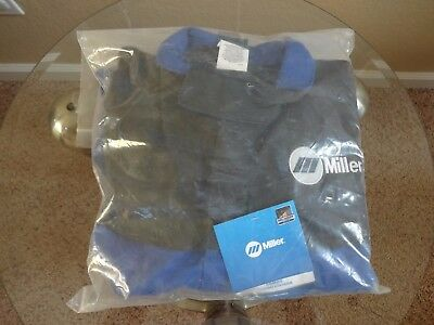 Miller 231083 Arc Armor Cloth & Leather Combo Jacket -X Large Size - New