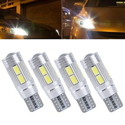 4x T10 3W 10 SMD 5630 LED Xenon w5w Canbus Standlicht Weiß Beleuchtung Lampe 12V