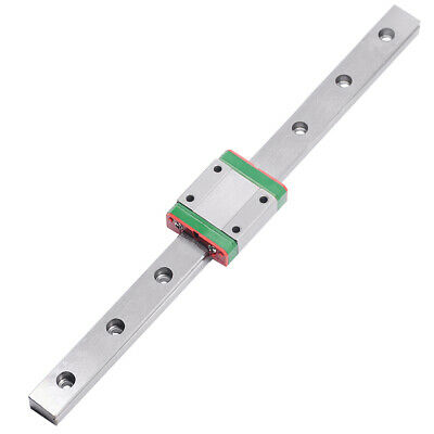 CNC part MR9 9mm linear rail guide MGN9 length 400mm with mini MGN9H  block