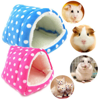 Pet Cat Dog Nest Bed Soft Warm Cave House Sleeping Bag Mat Pad for pig squirrel