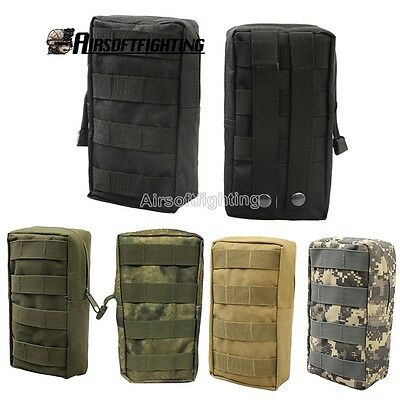 Tactical 600D Molle Waist Bag Medic Pouch Vest Backpack Portable Camping Hunting