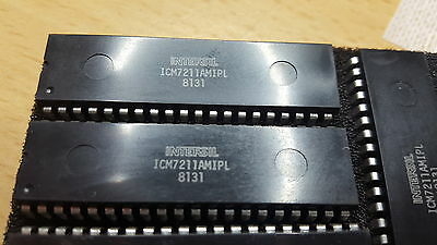 1x ICM7211AMIPL, 4-Digit, LCD and LED Decoder Driver
