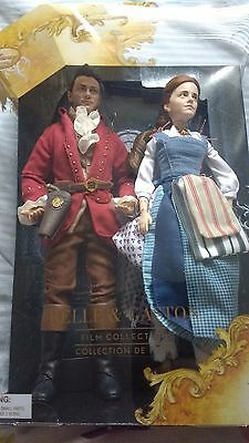 Disney Beauty and the Beast Film Collection Belle and Gaston Doll Set