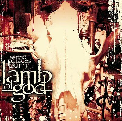 LAMB OF GOD As The Palaces Burn CD BRAND NEW