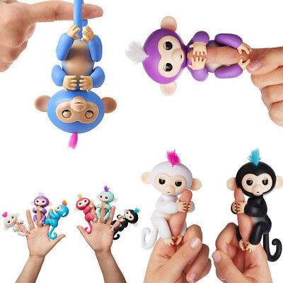 Interactive Finger Baby Monkey Creative Toy Finger-tip Electronic Pet Kids Gifts