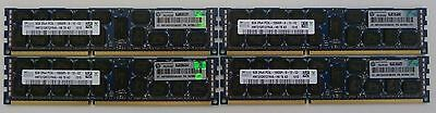 32GB 4x8GB PC3 PC3L-10600R ECC 1333MHz HP IBM DELL Lenovo Server Memory