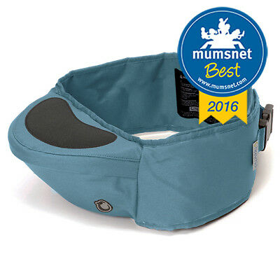 Hippychick Hipseat - The back saving baby carrier **RRP £39.95**