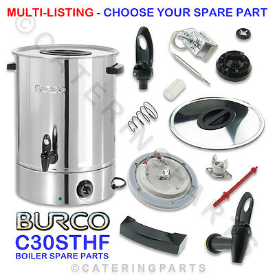 Burco Electric Spare Parts Manual Fill C30 Sthf 30 Litre Hot Water Boiler Urn