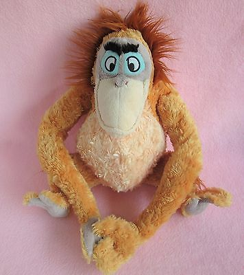 "Disney Store Exclusive 16"" King Louie Jungle Book orangutan soft plush hug toy"