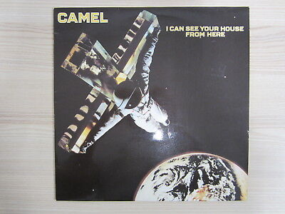 LP / Camel ‎– I Can See Your House From Here / 1979 / DECCA DE PRESS / RAR /