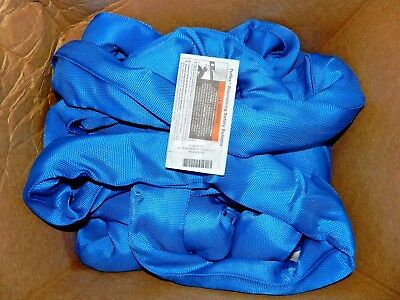 Lift-All Tuflex Polyester Blue Roundsling 16Ft 21,200 Lbs Vertical Cap EN240X16
