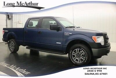 2014 Ford F-150 XL 4X4 3.5  ECOBOOST V6 4WD SUPERCREW CAB TRUCK MSRP $40435 XL PLUS PACKAGE, ALLOY WHEELS, BLACK PLATINUM RUNNING BOARDS
