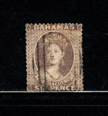Item No. A3401 – Bahamas – Scott # 10 – Used w/ APS Cert.