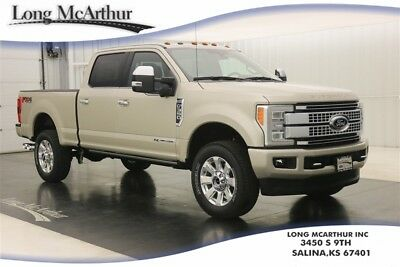 2017 Ford F-350 4WD PLATINUM DIESEL SUPER DUTY CREW CAB 4X4 MSRP $77850 FX4 OFF ROAD PACKAGE SUPER DUTY ULTIMATE TRAILER TOW CAMERA ADAPTIVE CRUISE