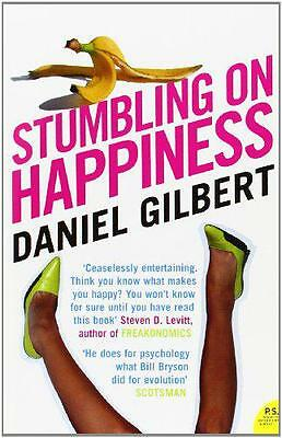 Stumbling on Happiness by Daniel Gilbert   Paperback Book   9780007183135   NEW