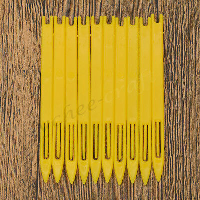 10x Netting Needle Shuttle Weaving Loom For Fishing Net Trawl Repair Tool Yellow