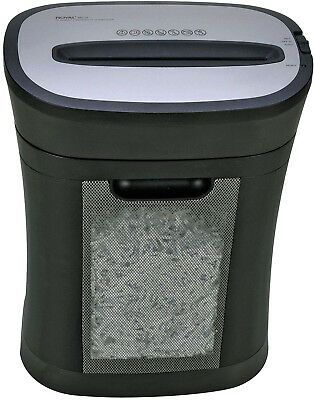 Royal HG12X Cross-Cut Paper Shredder (Black/Silver)