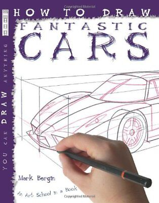 How to Draw Cars by Mark Bergin   Paperback Book   9781904642725   NEW