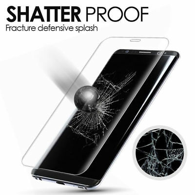 Temper Glass For Samsung Galaxy S8, S8 Plus Note 8 Clear Full Protection