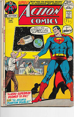 Action Comics #408 Superman Bronze Age DC Comics F