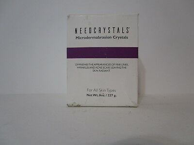 NeedCrystals Microdermabrasion Crystals (8 oz) Brand new, FREE SHIPPING!