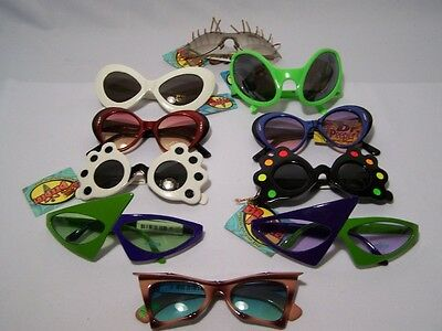 Dr.peepers Alien/space Creature/bug Eye/et/ufo/punk Funky Costume Sunglasses