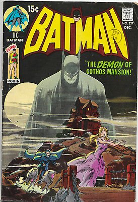 Batman #227 Bronze Age DC Comics Neal Adams Art F