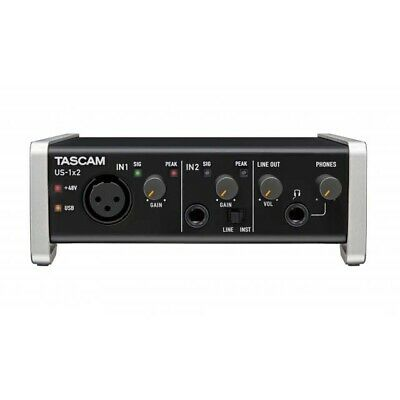 Tascam US-1X2 1-In/2-Out USB Audio & MIDI Interface