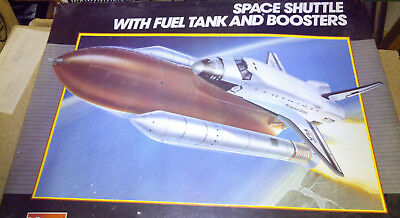 Monogram Space Shuttle with fuel tank and boosters 1 : 72, Nr. 85-4170