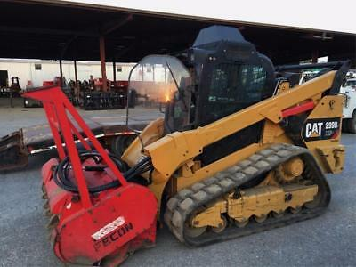 2014 Caterpillar 299D Xhp 110Hp High Flow Track Skid Steer Loader Cat 299