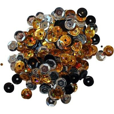Clear Scraps Sequin Multi Pack 350 To 400 Pieces - Glamour